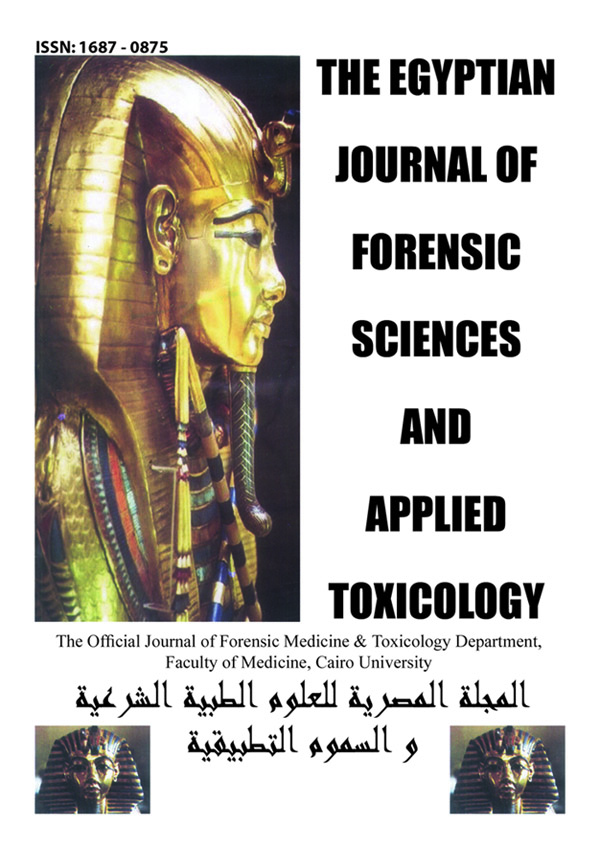The Egyptian Journal of Forensic Sciences and Applied Toxicology